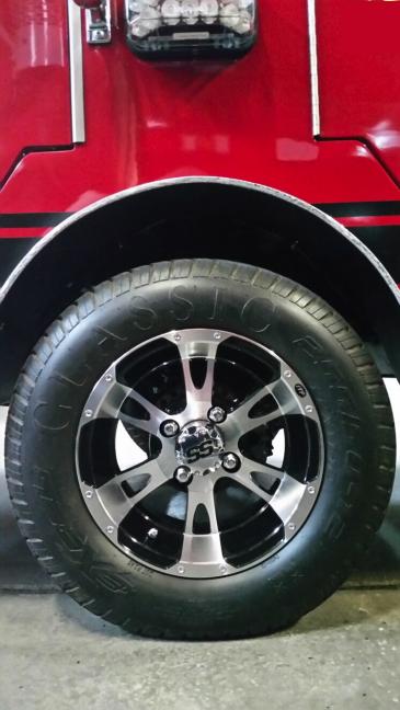 Custom Truck Headlights >> EZ-GO Custom Fire Truck • Texas Fire Trucks